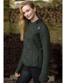 Cable Knit Side Zip Jacket - Z4630