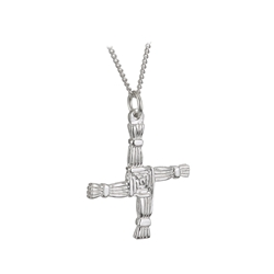 Sterling Silver St. Brigids Cross Double Sided - 4974