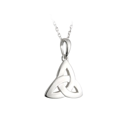 Sterling Silver Trinity Knot - 4089