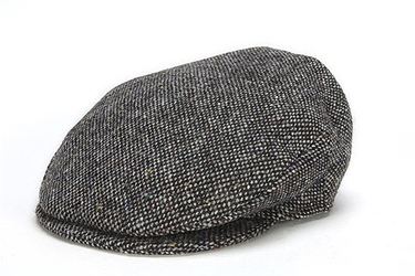 Donegal Tweed Vintage Cap Grey Salt & Pepper