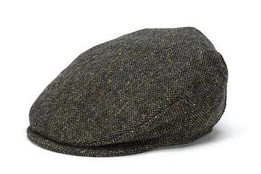 Donegal Tweed Vintage Cap Brown Salt & Pepper