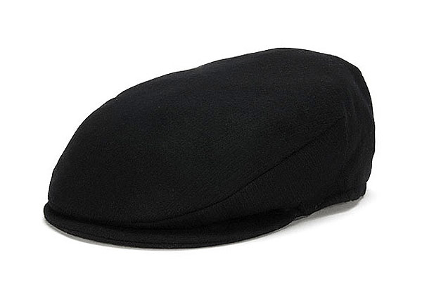 Vintage Cap Black Wool