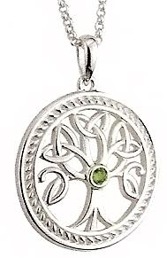 solvar ltd sterling silver tree of life pendant