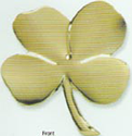Gerity Four Leaf Clover - 24k Gold
