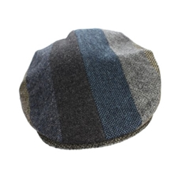 Vintage Cap Striped Patch Grey - 77B1SG