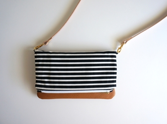 Canvas Leather Crossbody
