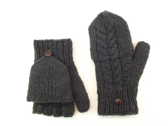 Cable Hunter Gloves - Charcoal