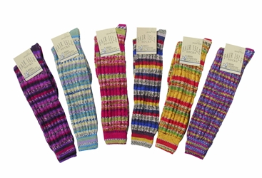 Fair Isle Knee High - Medium 5 1/2-8 1/2