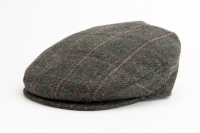 Vintage Cap Dark Grey Check - 7771