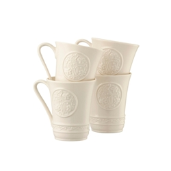 Irish Crafts 10oz Mugs  -  B4393 (Set of 4)